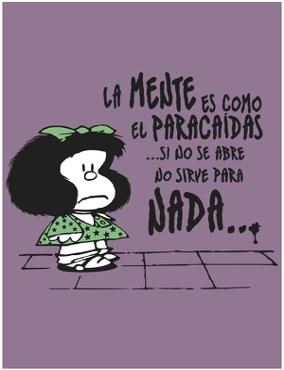 Mafalda frases humor reflexion. | Mafalda frases, Frases humor ...